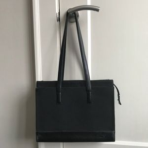 Tumi boxy tote or office carry-all